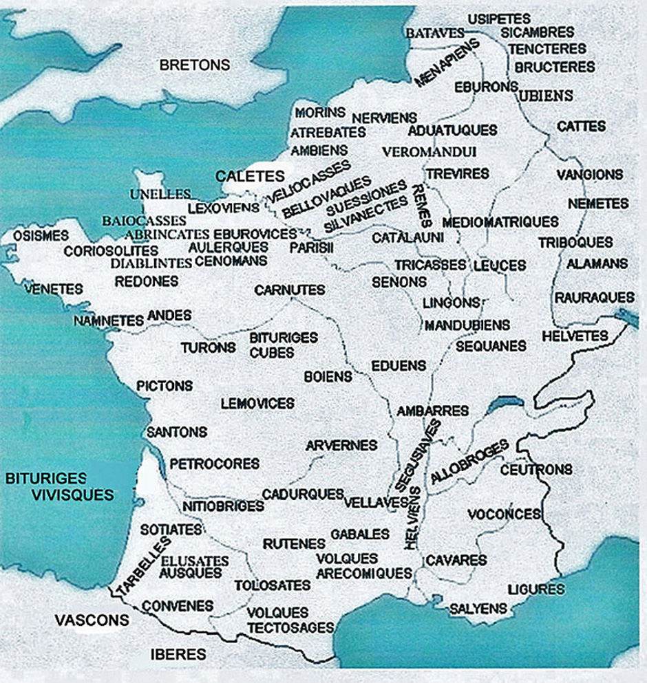 Compilhistoire Celtes Gaulois Galates